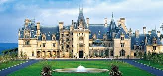 Picture of the Biltmore Estate in Ashville, NC